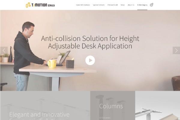 網頁設計-網站設計 - 第一傳動科技股份有限公司-TiMOTION ERGO